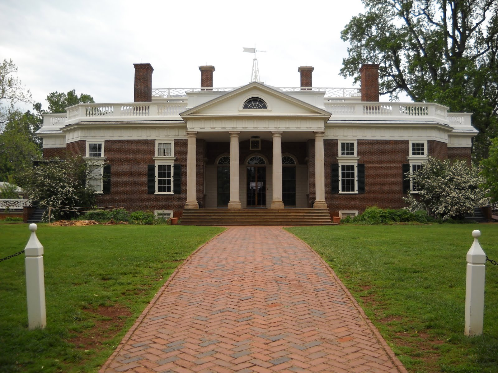 Greg sebourn thomas jefferson 39 s monticello for Thomas jefferson house monticello