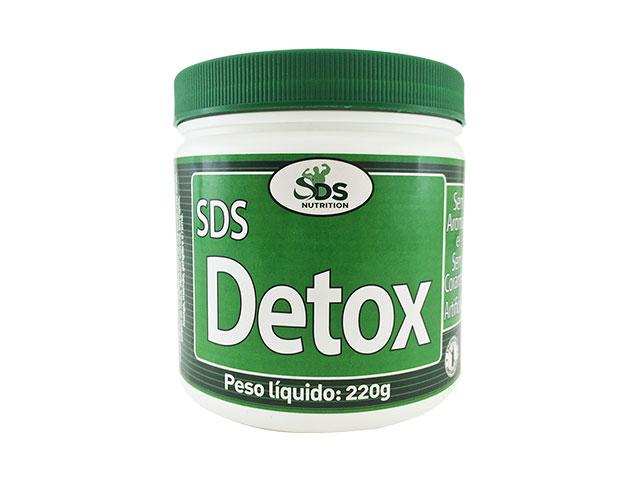 Produto SDS Detox, da marca SDS Nutrition teve publicidade suspensa pela Anvisa. Foto: Divulgação