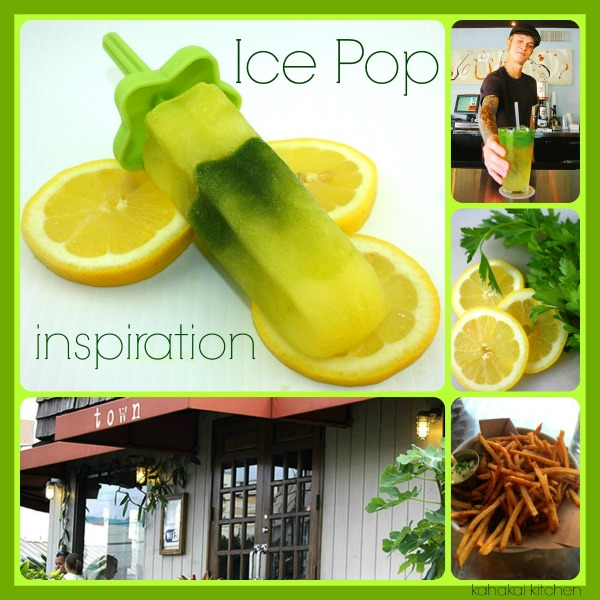 Parsley-Lemonade Ice Pops {#SummerOfThePopsicle Guest Post: Kahakai Kitchen} | www.girlichef.com