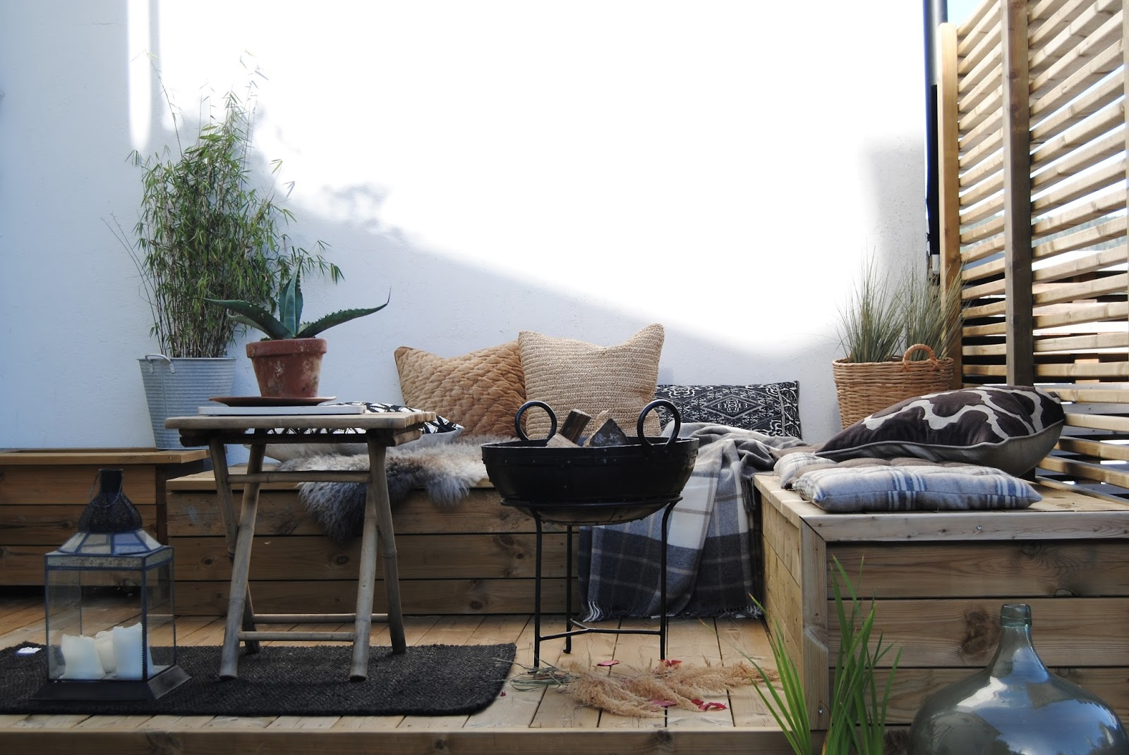 Blogg home and cottage: innred uteplassen