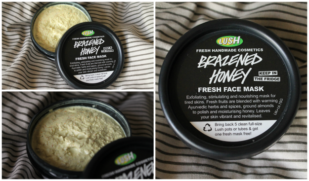 LUSH Brazened Honey Face Mask Review