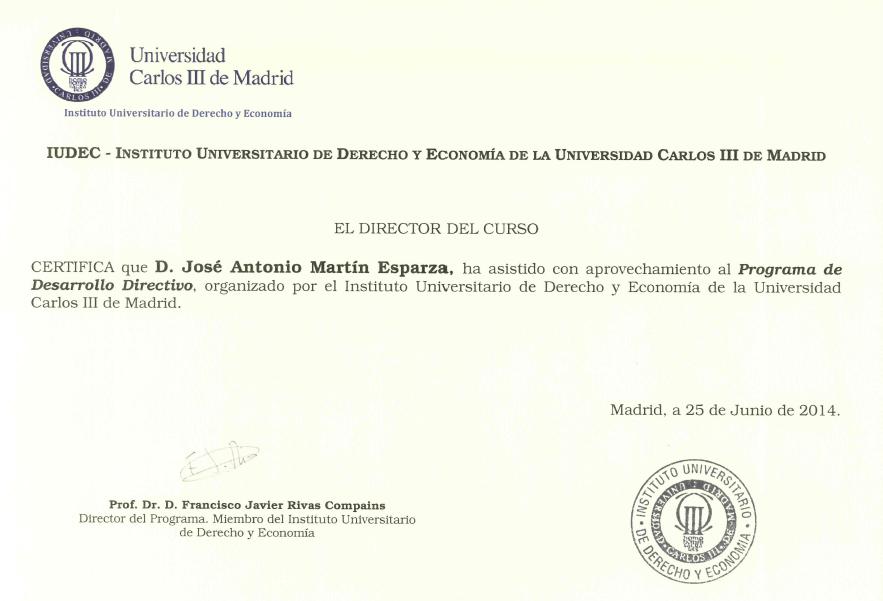Programa Desarrollo Directivo