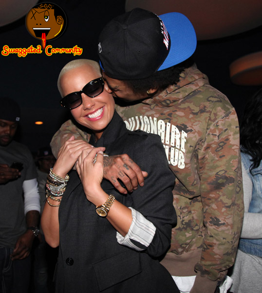 wiz khalifa and amber rose pics. wiz khalifa amber rose.