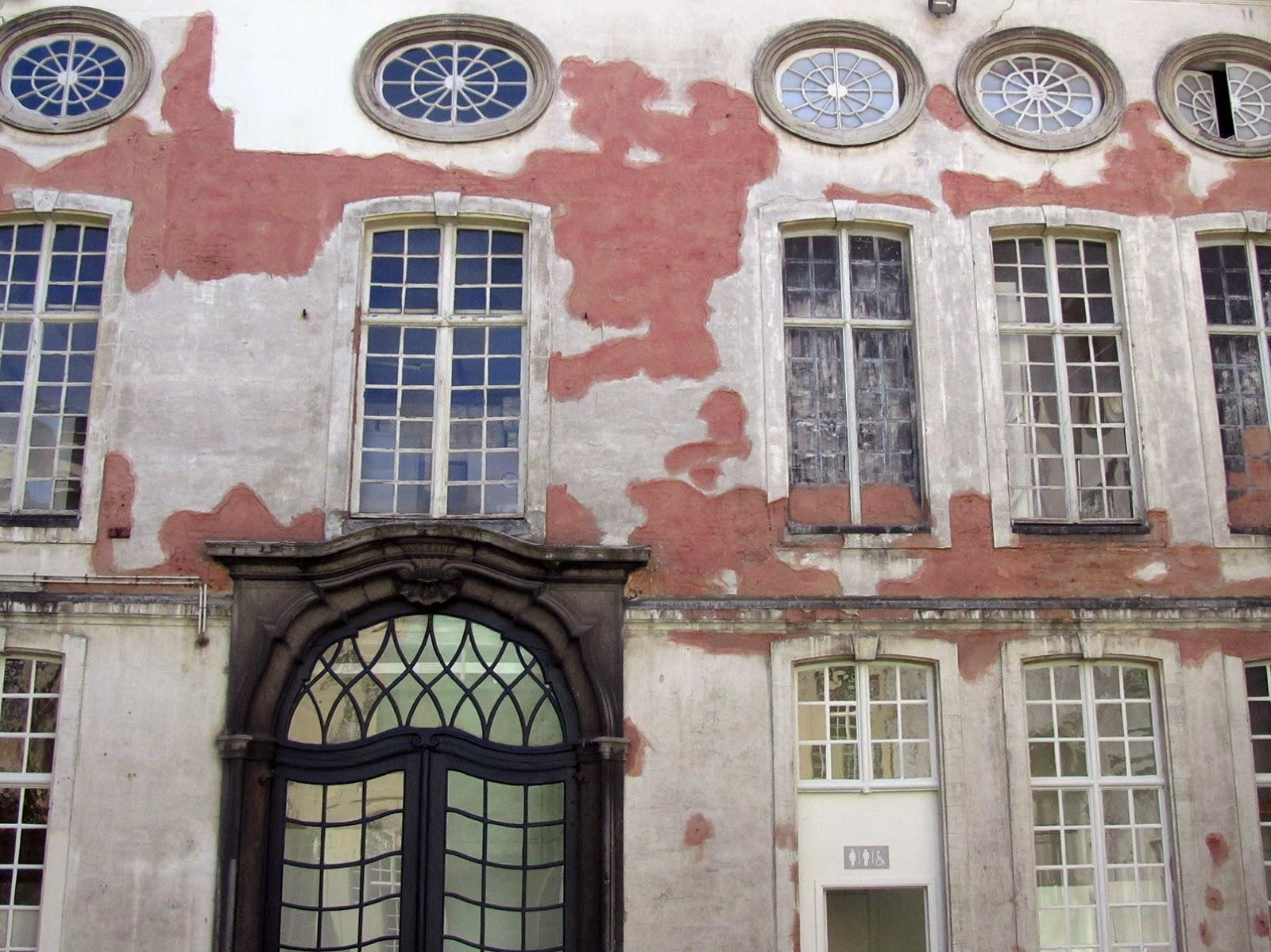 inner court of Design Museum Ghent