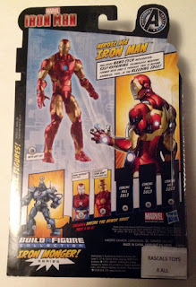 Hasbro Marvel Legends Iron Man - Heroic Age Iron Man in Package - back