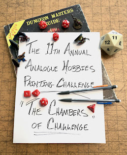 The 11th Annual Painting Challenge Has Begun!