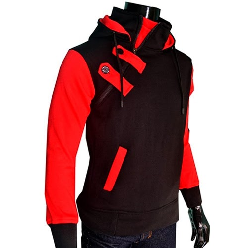 Jaket Harajuku Merah