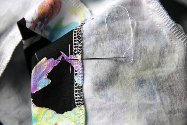 как пошить незаметно платье