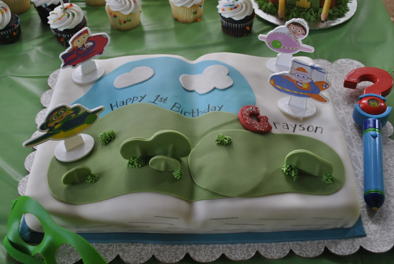 In This Crazy Life A Super Why First Birthday Party