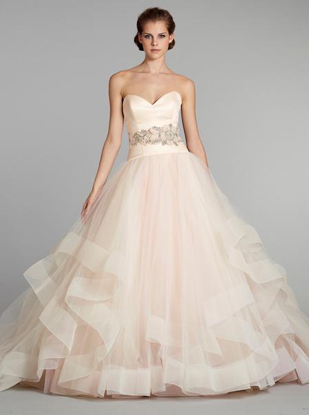 Pink wedding dresses in mosaic view wedding dresses in mosaic view very light pink to white wedding dress junglespirit Images
