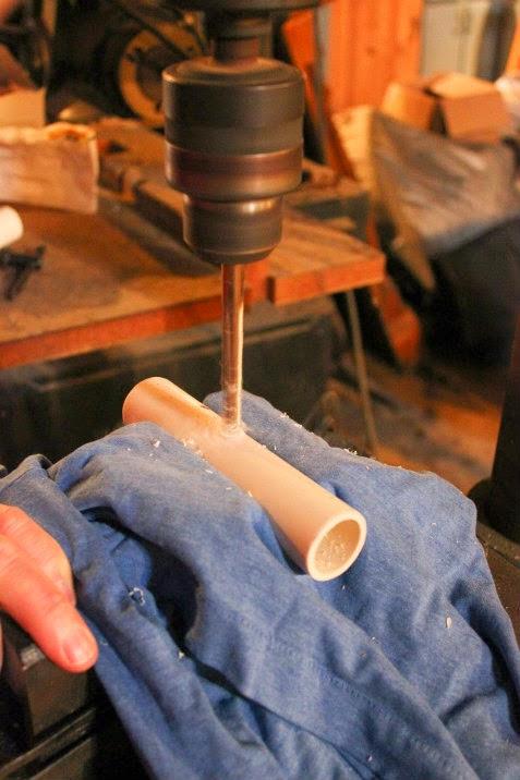 drilliing pvc pipe 1