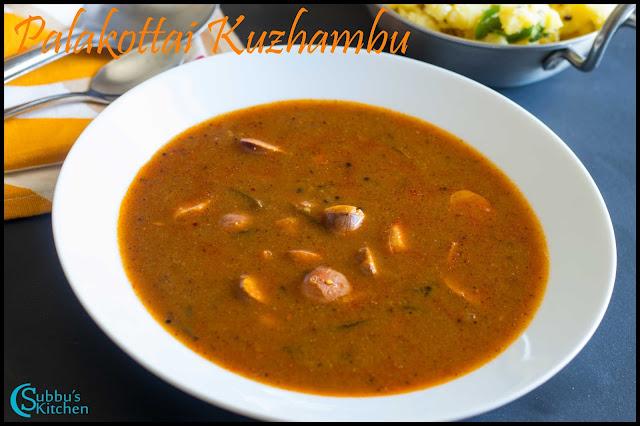 Palakottai Kuzhambu Recipe | JackFruit Seeds Kuzhambu