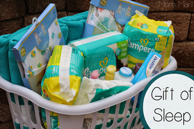 Pampers Gift of Sleep Gift Basket