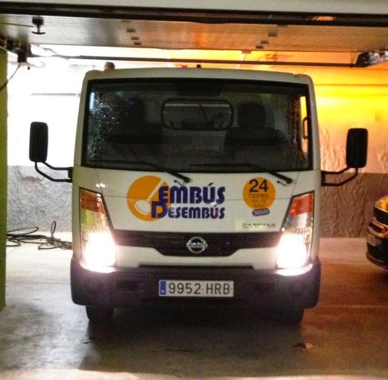 Camión cuba de Embús Desembús