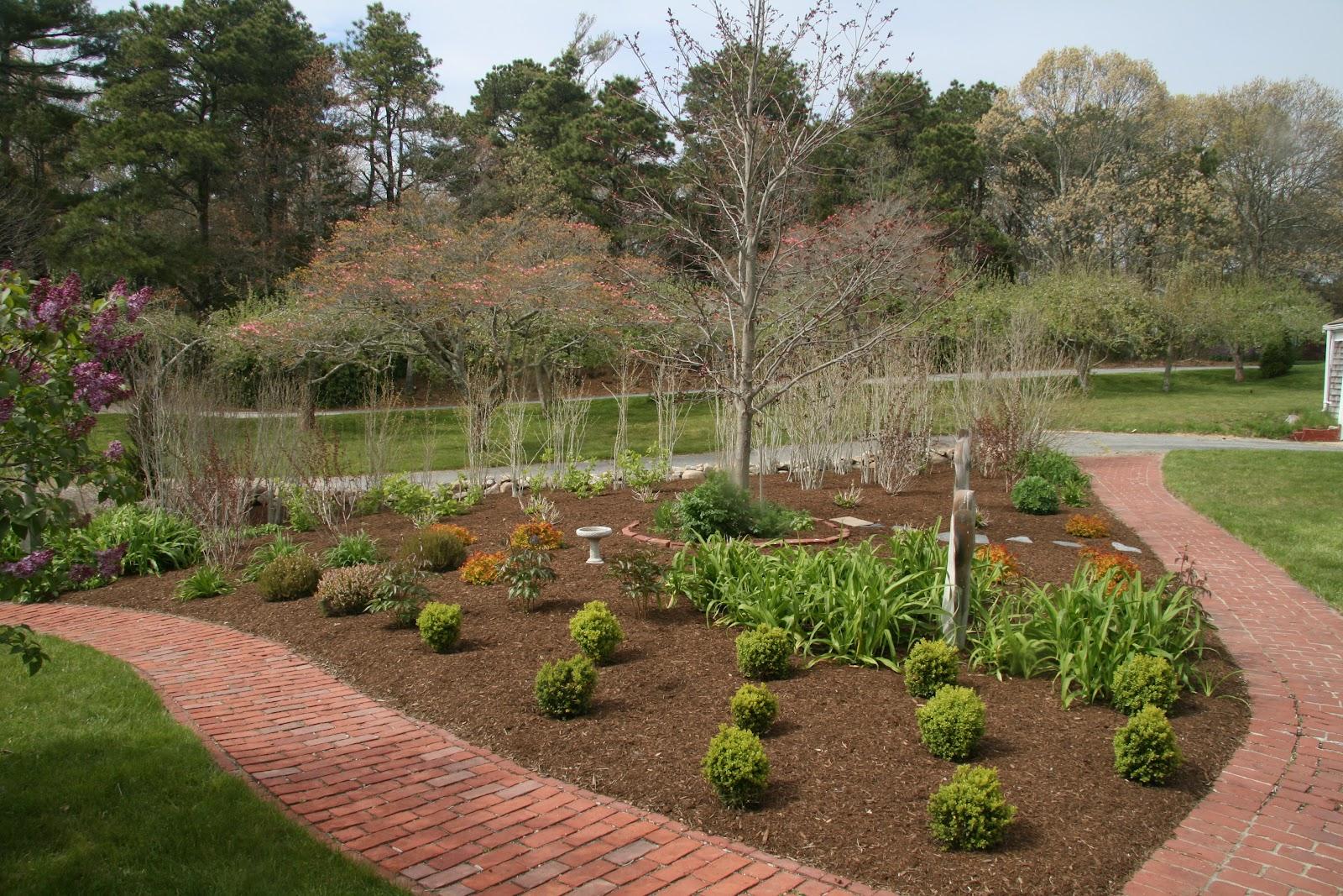 An Old Farm: More Mulch – A Garden Update