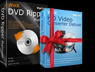 Gratis WinX DVD Ripper Platinum dengan License key