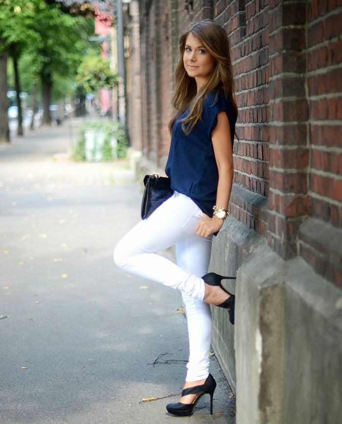 Elegant White Pants For Women Outfit With Awesome Styles U2013 Playzoa.com