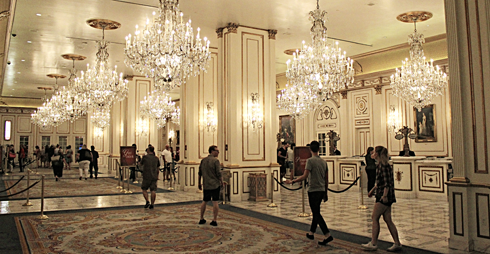 New paris las vegas hotel