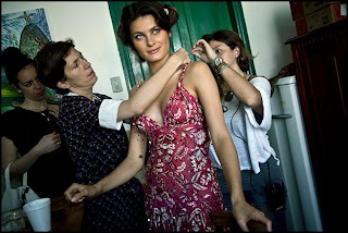 Isabeli Fontana Photoshoot For Pirelli Calendar 2013