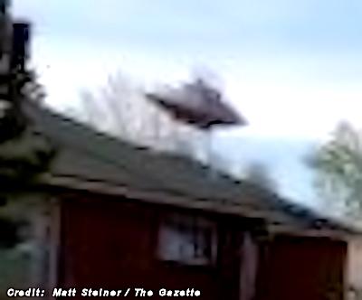 Landmark 'UFO House' is Scene of Fatal Shooting