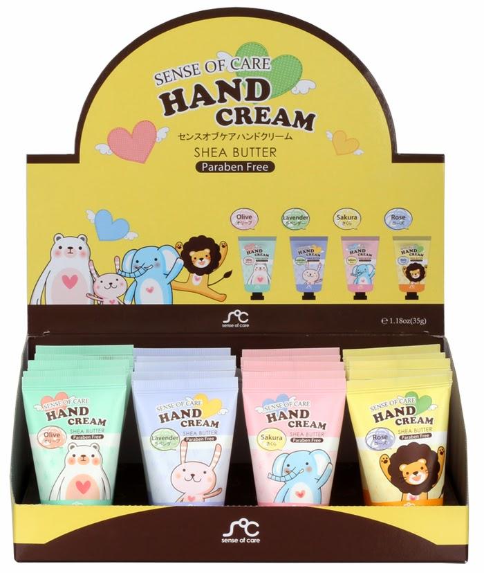 sense of care hand cream
