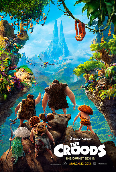 the croods, movie poster