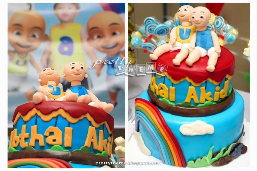 Pretty Theme Event Planner: Birthday Party - Theme: Upin & Ipin