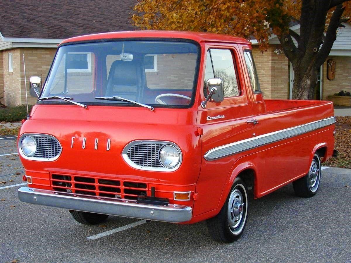 All American Classic Cars 1965 Ford E100t Econoline Pickup 1961 Truck