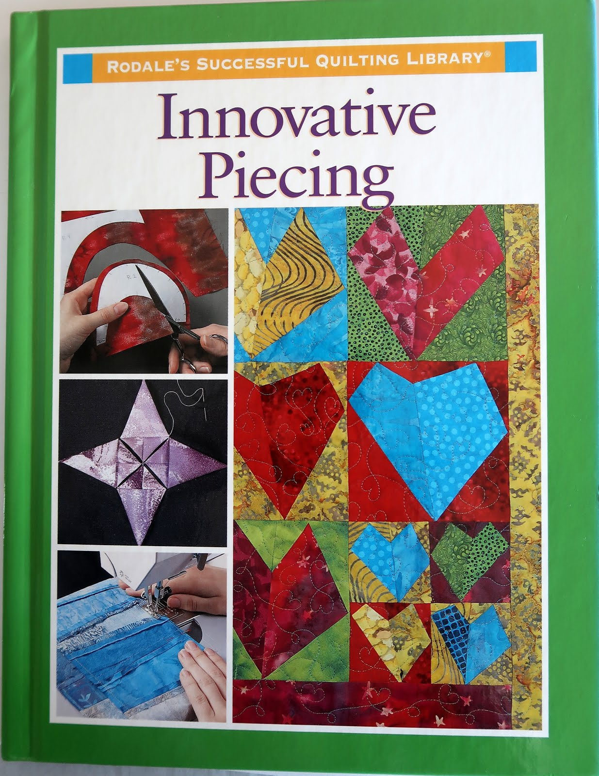 Innovative Piecing by Rodale!