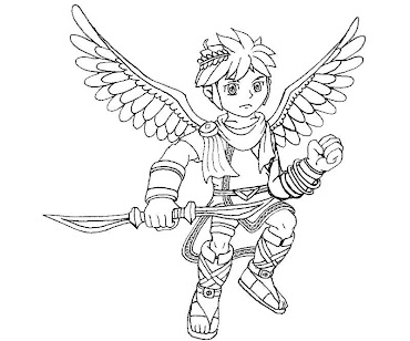 #27 Pit Coloring Page