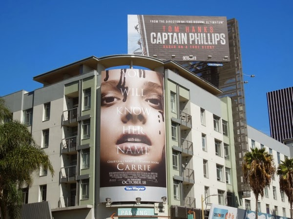Carrie 2013 movie billboard