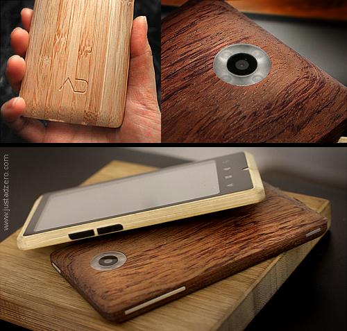 ADzero bamboo-built smartphone
