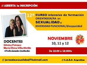 """CURSO """"ORIENTADOR/RA en SEXUALIDAD y DIVERSIDAD FUNCIONAL/discapacidad"""":"""