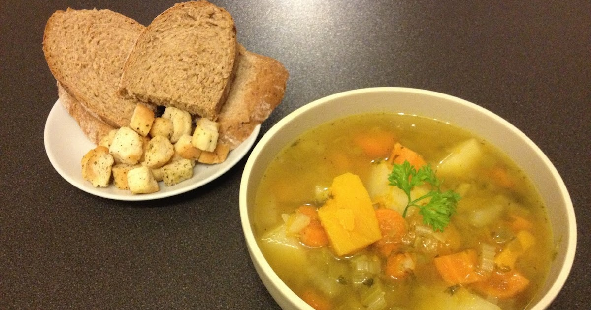 The Un-Perfect Housewives: Hearty Chicken Broth & Vegetable Soup