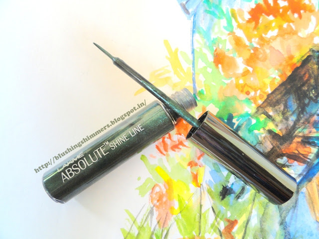 Lakme Absolute Shine Line - Olive tip