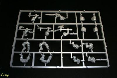 Matriz de la caja de Regimiento del Caos