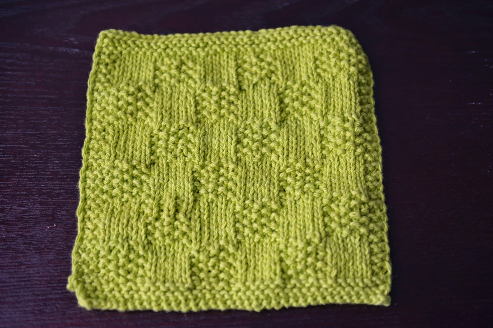 Kariboberry Creations: Dishcloth Knit Swap