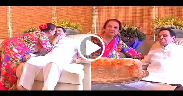 Living legend dilip kumar yousuf khan 39 s 93rd birthday for Saira banu granddaughter