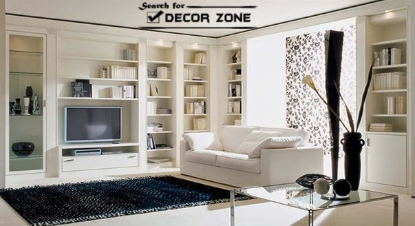 white living room furniture sets : 17 ideas and designs