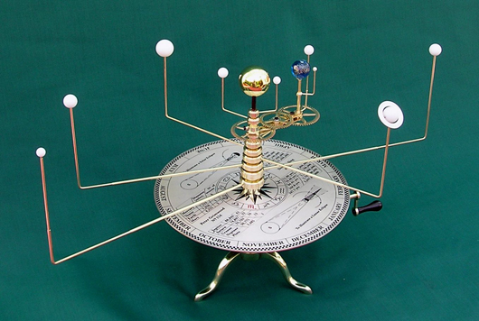 table top solar system model - photo #14