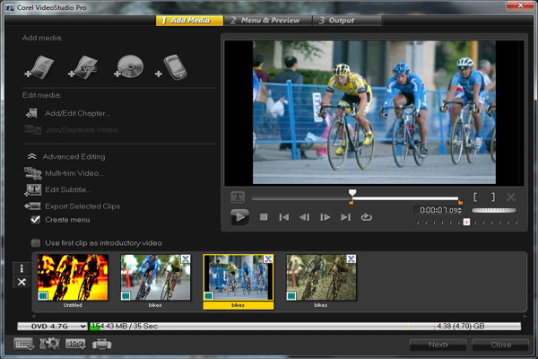 Screen Shot Of Corel VideoStudio Prox 5 Version 15.0 2012 Full Latest Version Mediafire Direct Link