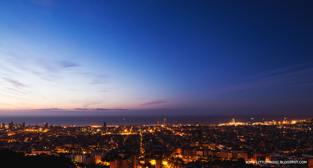Fotografia hora azul Barcelona