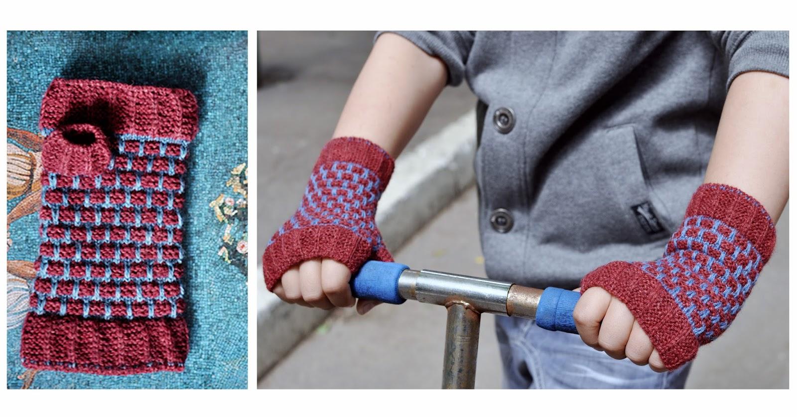 схема пальчика в руковичке