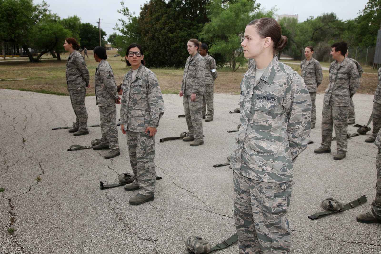 Air Force BMT Obstacle Course