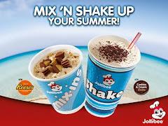Jollibee Reese's Mix-Ins and Cookies & Cream Shake