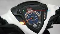 spedometer Yamaha Jupiter Z1 fuel injeksi