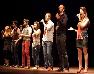 להקת הג'אז הווקלי סווינגל סינגרס חוזרת להופעה בישראל