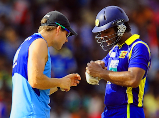 sanga injurd in 3rd ODI