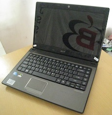 jual laptop 2nd acer aspire 4741g