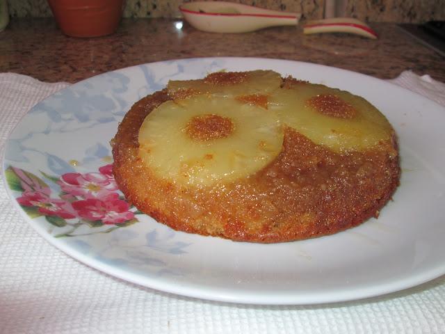 cuisine, recette, gastronomie, dessert, ananas, gateau